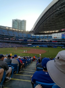 Aaron Sanchez on the mound at Rogers Centre July 4, 2016 against Kansas City