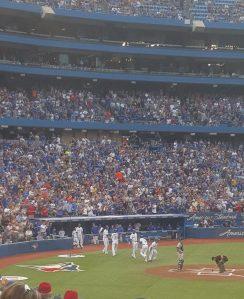 Troy Tulowitzki celebrates his 3-run home run against Tampa August 10, 2016